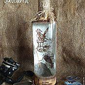 Бутылка подарок мужчине декупаж канцелярские наборы в подарок мужчине