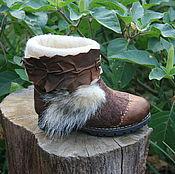 Обувь ручной работы. Ярмарка Мастеров - ручная работа Волк. Handmade.