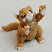 Материалы для творчества handmade. Livemaster - original item Silicone molds for soap Kitten. Handmade.