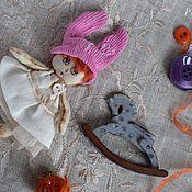 """Куклы и игрушки ручной работы. Ярмарка Мастеров - ручная работа Текстильная чердачная куколка """"Зай-зай"""". Handmade."""