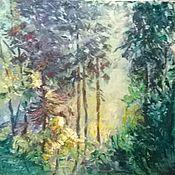 Картины и панно ручной работы. Ярмарка Мастеров - ручная работа Волшебный лес (в резерве). Handmade.