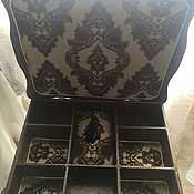 Для дома и интерьера ручной работы. Ярмарка Мастеров - ручная работа Столик для рукоделия. Handmade.