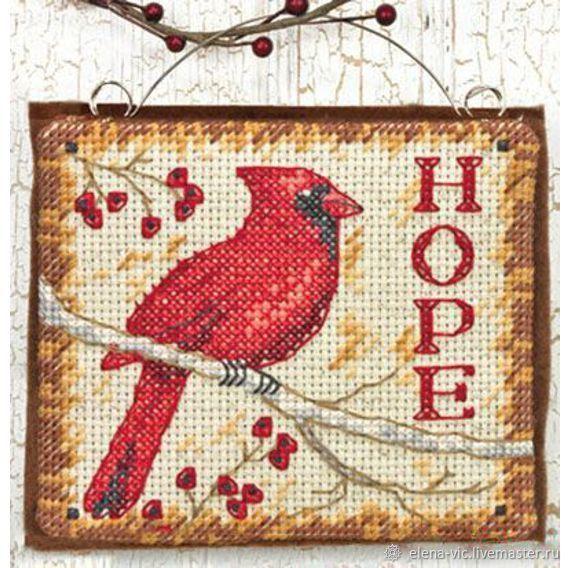 """Набор для вышивания Dimensions """"Hope Ornament"""", Схемы для вышивки, Смоленск,  Фото №1"""