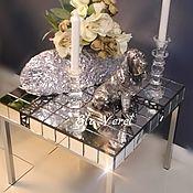 Для дома и интерьера ручной работы. Ярмарка Мастеров - ручная работа Интерьерный столик ``ХРУСТАЛЬНЫЙ ПОЦЕЛУЙ``. Handmade.