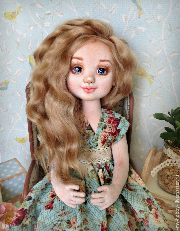 Молли. Коллекционная текстильная кукла, Куклы и пупсы, Краснодар,  Фото №1