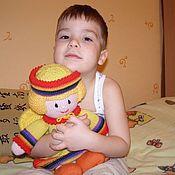 Войлочная игрушка ручной работы. Ярмарка Мастеров - ручная работа Вязаная кукла из шерсти Зубная фея. Handmade.