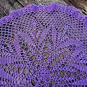 Для дома и интерьера handmade. Livemaster - original item Crochet napkin. Handmade.