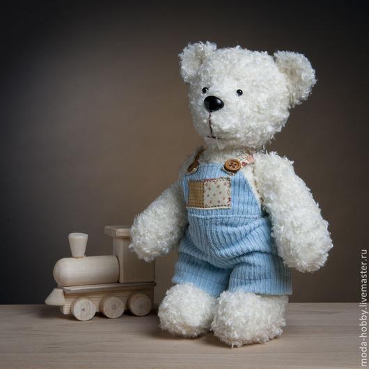 Куклы и игрушки ручной работы. Ярмарка Мастеров - ручная работа. Купить Набор для изготовления. Медвежонок Фанечка. Handmade. Голубой