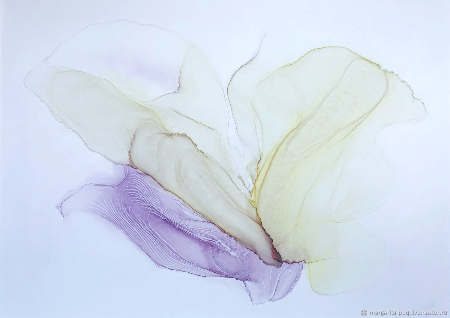 interior painting. Abstraction 'Flower', Pictures, Ekaterinburg,  Фото №1