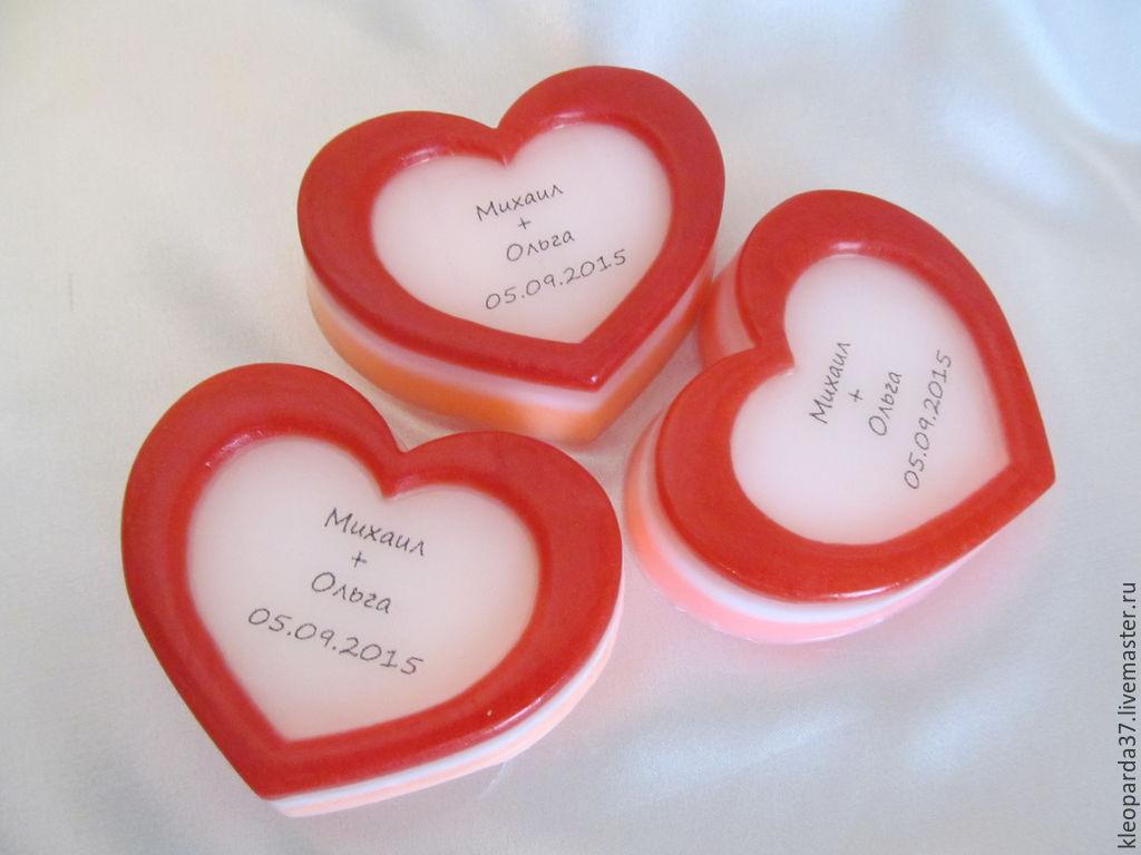 Свадебное мыло комплимент для гостей, Подарки, Иваново,  Фото №1