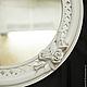Зеркала ручной работы. Ярмарка Мастеров - ручная работа. Купить консольный столик и зеркало Розы. Handmade. Белый, гарнитур