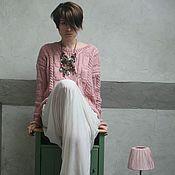 Одежда ручной работы. Ярмарка Мастеров - ручная работа Джемпер Cozy Pink. Handmade.