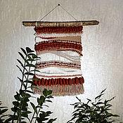 Панно макраме ручной работы. Ярмарка Мастеров - ручная работа Панно в этническом стиле. Handmade.