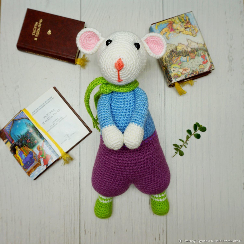 Мышка-писатель, творческая натура, Игрушки, Иркутск, Фото №1