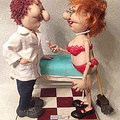 Куклы и игрушки ручной работы. Ярмарка Мастеров - ручная работа Спасибо, доктор! После вашего сеанса я вновь ощущаю себя стройной!. Handmade.