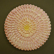 Посуда handmade. Livemaster - original item Gentle chrysanthemum. Handmade.