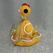 Подарки к праздникам ручной работы. Ярмарка Мастеров - ручная работа Пасхальная курочка. Handmade.