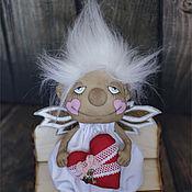Куклы и игрушки ручной работы. Ярмарка Мастеров - ручная работа Ангелок-февралёк. Handmade.