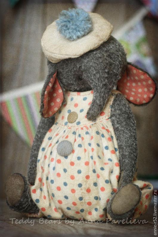 Мишки Тедди ручной работы. Ярмарка Мастеров - ручная работа. Купить Bonbon. Handmade. Серый, авторская игрушка, минеральный гранулят