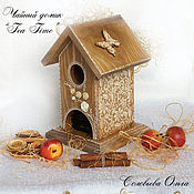 """Для дома и интерьера ручной работы. Ярмарка Мастеров - ручная работа Чайный домик """"Tea time"""". Handmade."""