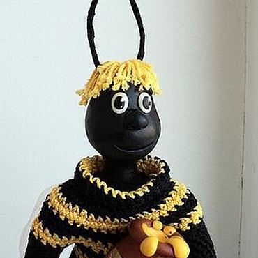 """Куклы и игрушки ручной работы. Ярмарка Мастеров - ручная работа Интерьерная кукла """"Пчелёнок"""". Handmade."""