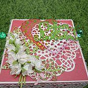 Элементы для скрапбукинга ручной работы. Ярмарка Мастеров - ручная работа Magik-box подарочная коробочка. Handmade.