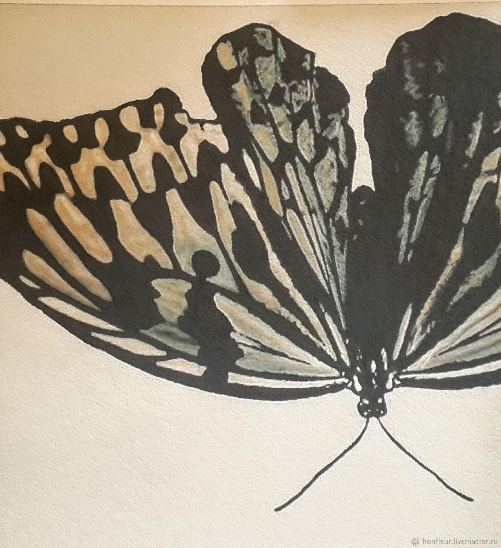Картина:Бабочка Чжуан - цзы, Картины, Москва,  Фото №1
