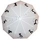 """Зонты ручной работы. Зонт с ручной росписью """"Коты"""". BelkaStyle -кеды, футболки, зонты. Интернет-магазин Ярмарка Мастеров. Зонтик"""