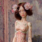 Куклы и игрушки ручной работы. Ярмарка Мастеров - ручная работа Роза, шарнирная кукла. Handmade.