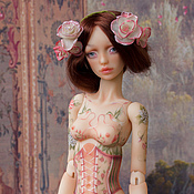 Куклы и игрушки handmade. Livemaster - original item Rose jointed doll. Handmade.