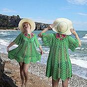 """Одежда ручной работы. Ярмарка Мастеров - ручная работа Вязаное платье """"Королева пляжа"""". Handmade."""