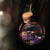 """Подарки к праздникам ручной работы. Ярмарка Мастеров - ручная работа Зачарованный Елочный шар """"Уютный"""", подарок бабушке. Handmade."""