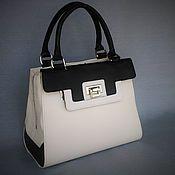 Сумки и аксессуары handmade. Livemaster - original item Bag 0039.Skin. black and white. Handmade. Handmade.