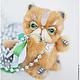 Мишки Тедди ручной работы. Ярмарка Мастеров - ручная работа. Купить Котик породы экзот Fluffy коллекционная авторская игрушка мишка тедди. Handmade.