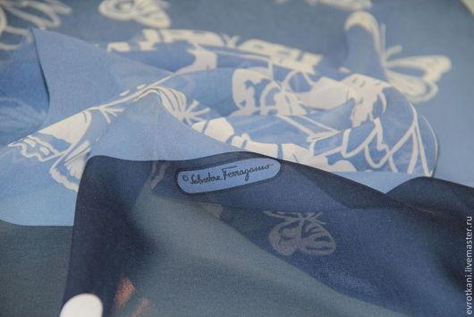 Шитье ручной работы. Ярмарка Мастеров - ручная работа. Купить Палантин Salvatore Ferragamo. Handmade. Палантин, ткани Италии