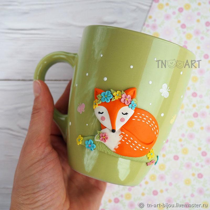 """Кружка """"Лисичка"""", Mugs and cups, Sochi,  Фото №1"""
