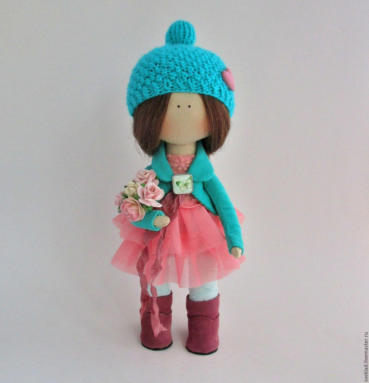 Текстильная кукла от макушки до пяточек Ярмарка Мастеров 15