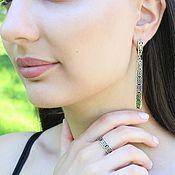 Украшения handmade. Livemaster - original item Modern 7 jewelry set made of 925 DD0112 silver. Handmade.