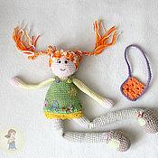 Материалы для творчества handmade. Livemaster - original item Master class on crochet