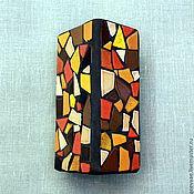 """Для дома и интерьера ручной работы. Ярмарка Мастеров - ручная работа Ваза """"Апельсины в шоколаде"""". Handmade."""