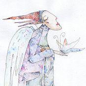 Картины и панно ручной работы. Ярмарка Мастеров - ручная работа Мой Милый Ангел..). Handmade.