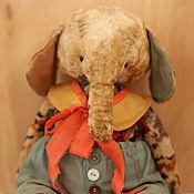 Куклы и игрушки ручной работы. Ярмарка Мастеров - ручная работа Слон Марвел.. Handmade.