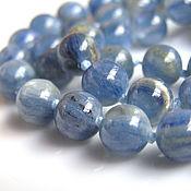 Материалы для творчества handmade. Livemaster - original item Kyanite beads 8 mm. Handmade.