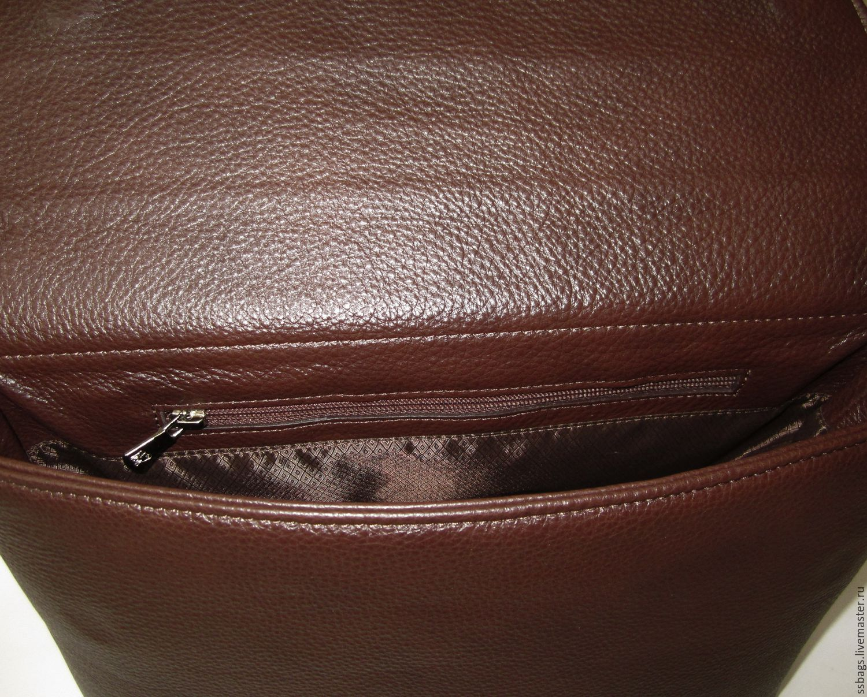 747e2fb2b63d Lightweight carry bag with two strap myself. from cognac Italian genuine  leather. Handbags handmade. Livemaster - handmade. Buy Lightweight ...