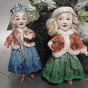 Куклы и игрушки ручной работы. Ярмарка Мастеров - ручная работа Сёстры Зайцевы проданы. Handmade.