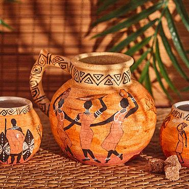 Посуда ручной работы. Ярмарка Мастеров - ручная работа Индия, Африка, Мезоамерика, Европа - керамика. Handmade.