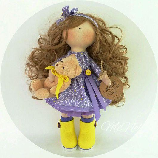 Куклы тыквоголовки ручной работы. Ярмарка Мастеров - ручная работа. Купить Интерьерная кукла Ириска. Handmade. Кукла ручной работы
