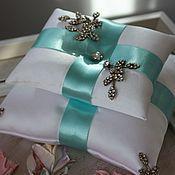 Свадебный салон handmade. Livemaster - original item Cushion for rings. Handmade.