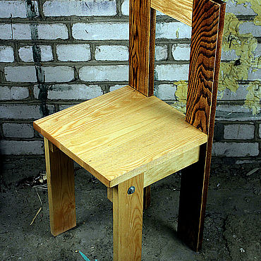 Мебель ручной работы. Ярмарка Мастеров - ручная работа Стул Эклектика Ясень. Handmade.