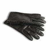 Аксессуары handmade. Livemaster - original item Men`s gloves made of Python FRANCO. Handmade.